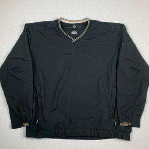 Nike Golf V-Neck Long Sleeve Windbreaker Jacket